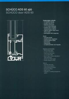 Schüco alumínium nyílászáró