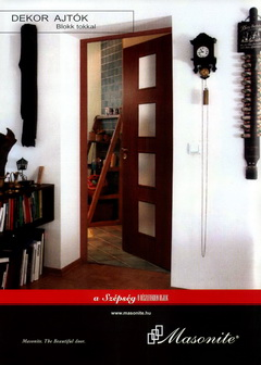 Masonite beltéri ajtók