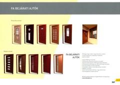 Hofstadter fa ajtó és ablak