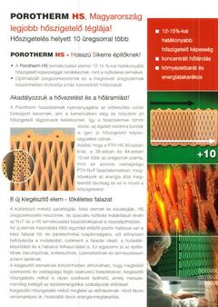 Porotherm prospektus